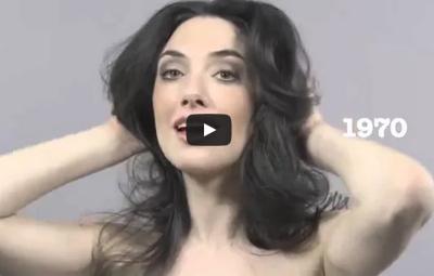 Vídeo 100 anos de beleza