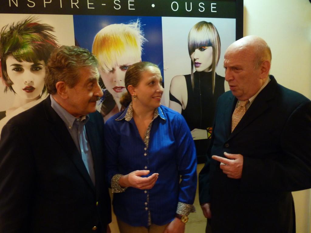 Glaucia Felicia, gerente de marketing e Pedro Reichenheim, diretor presidente da Joico Brasil