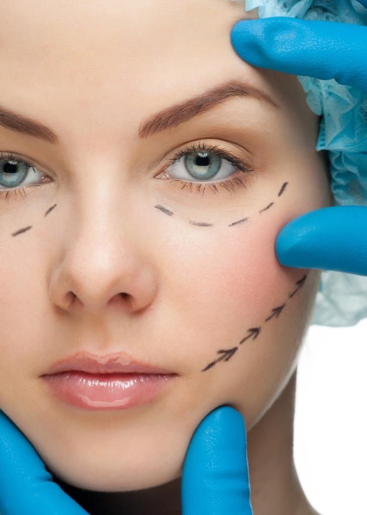 cirurgia plástica cicatriz
