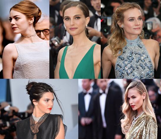 famosas em Cannes