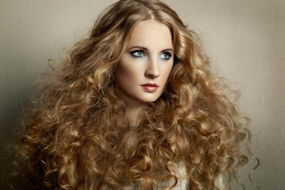 cabelos volumosos