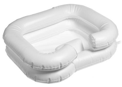 piscina inflável cabelos