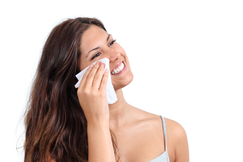 http://www.dreamstime.com/royalty-free-stock-photos-attractive-woman-cleaning-her-face-tissue-wipe-isolated-white-background-image31971288