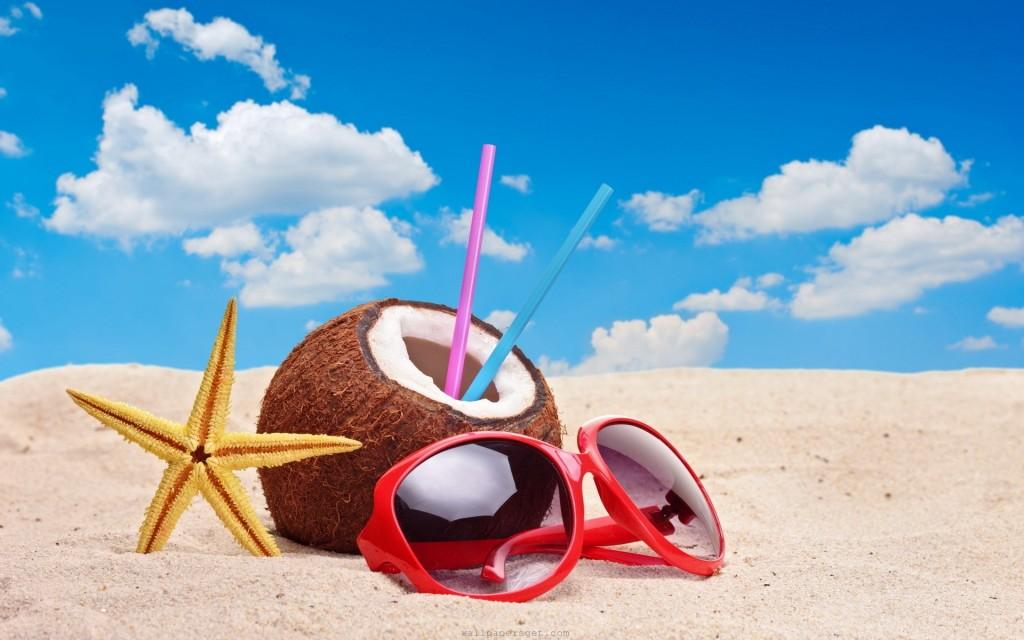 óculos no verão