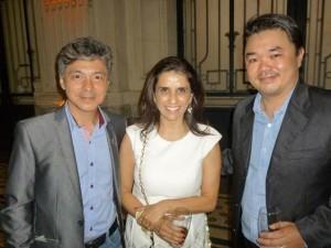 Lincoln Tramontini, hairstylist (PR); Rosângela Barchetta, diretora do Studio W (SP e César Tsukuda, diretor da Beauty Fair
