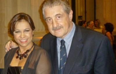 Marcia Maria, presidente da Haute Coiffure Française (Brasil) e Hugo Turovelzky (BELEZA TODAY)