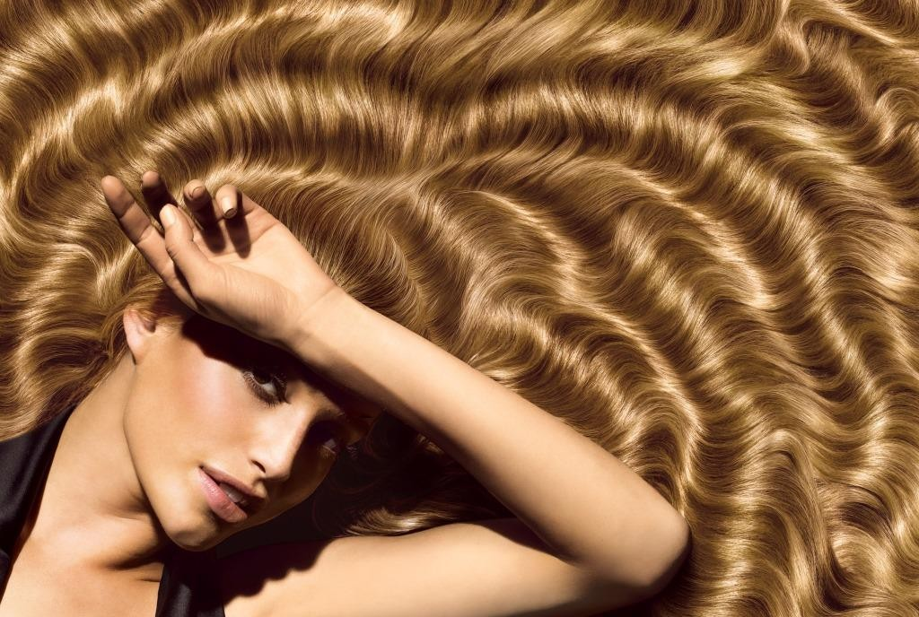 cabelos brilhantes